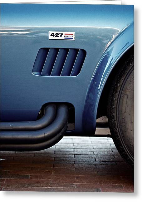 Carol Shelby Greeting Cards - Vented Cobra Greeting Card by Patrick Biestman