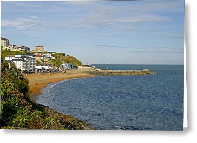 Ventnor Bay Greeting Card by Rod Johnson