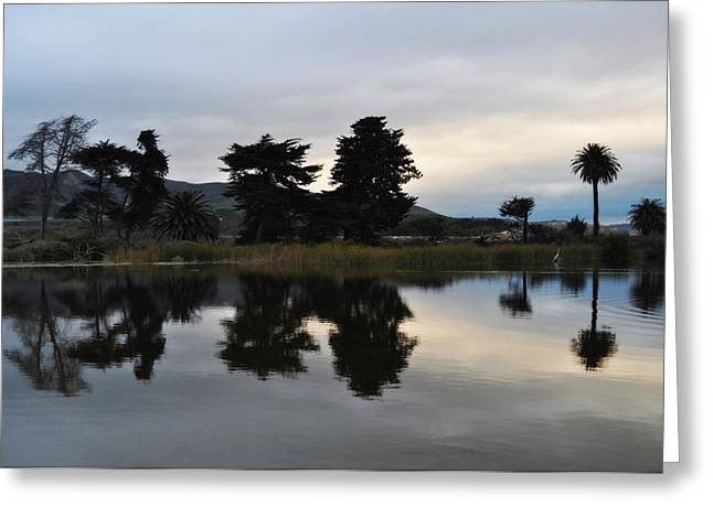 Ventura California Greeting Cards - Ventura California Coast Estuary Greeting Card by Kyle Hanson