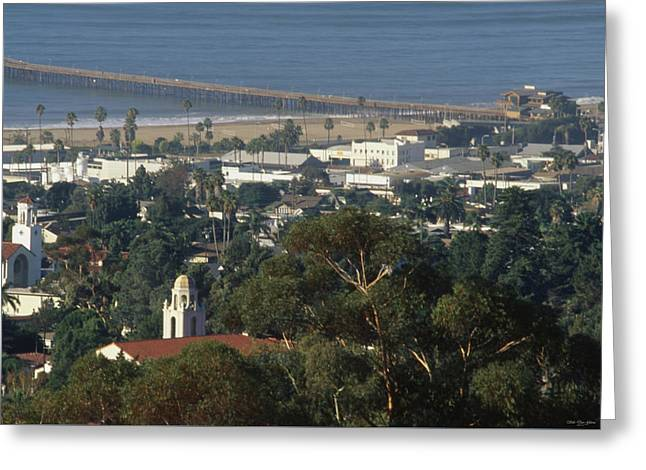 Ventura California Greeting Card by Soli Deo Gloria Wilderness And Wildlife Photography