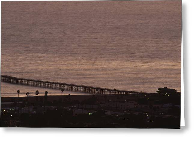 Ventura Pier California Greeting Card by Soli Deo Gloria Wilderness And Wildlife Photography