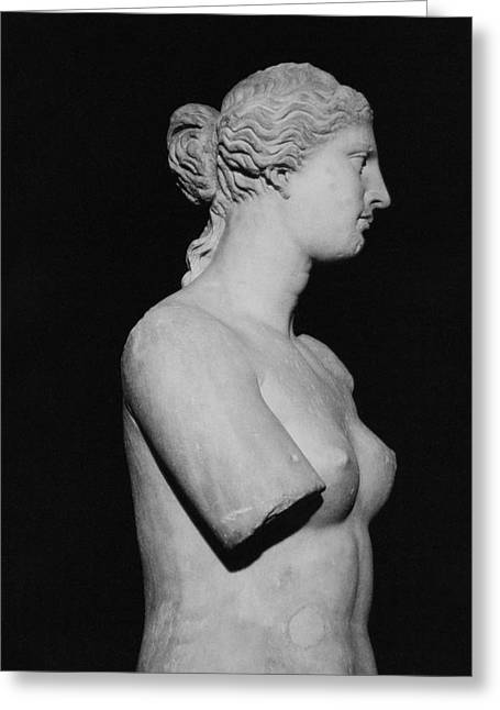 Period Greeting Cards - Venus de Milo Greeting Card by Greek School