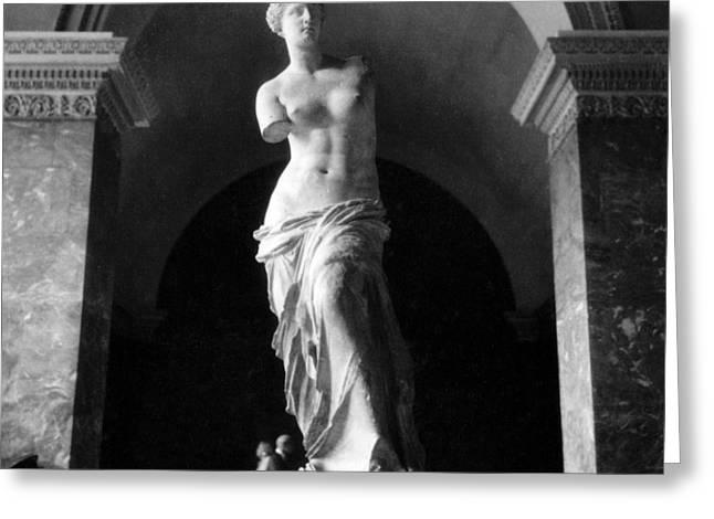 Aphrodite Of Milos Greeting Cards - Venus de Milo Greeting Card by Hans Mauli