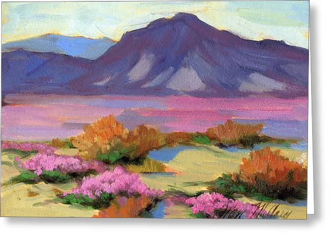 Verbena Greeting Cards - Verbena 1 Greeting Card by Diane McClary
