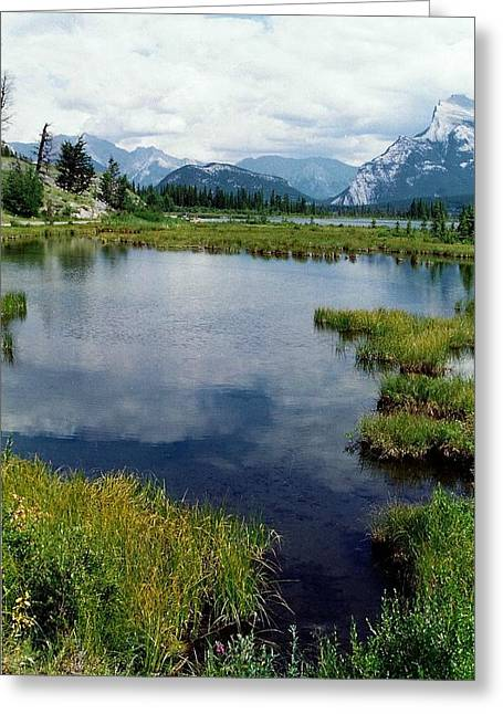 Subtle Greeting Cards - Vermillion Lake Greeting Card by Shirley Sirois