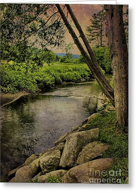 Vermont Landscapes Greeting Cards - Vermont and Rural Beauty Greeting Card by Deborah Benoit