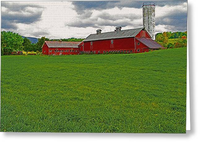 Openness Greeting Cards - Vermont Farmland 1 Greeting Card by Steve Ohlsen