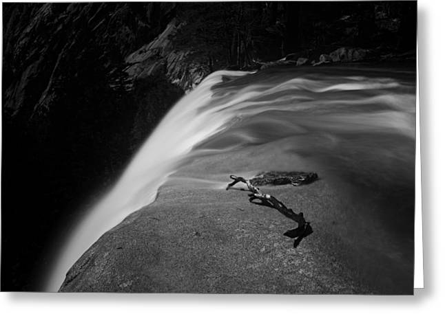 Fall Trees Greeting Cards - Vernal Fall Greeting Card by Beihua Guo