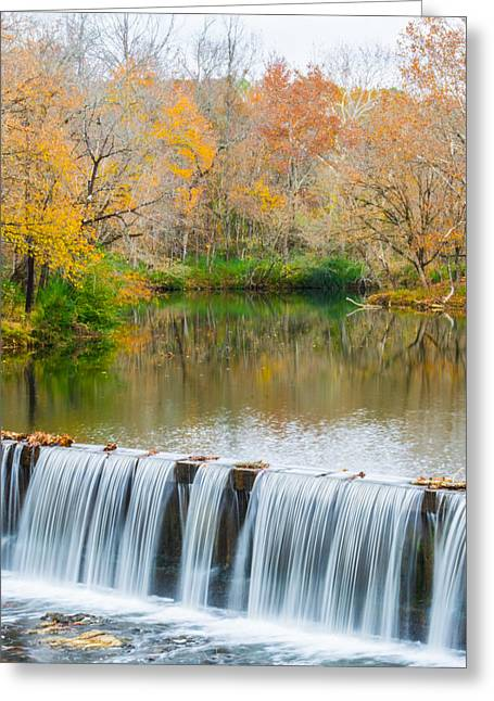 Vertical Fall At Buck Creek Greeting Card by Parker Cunningham