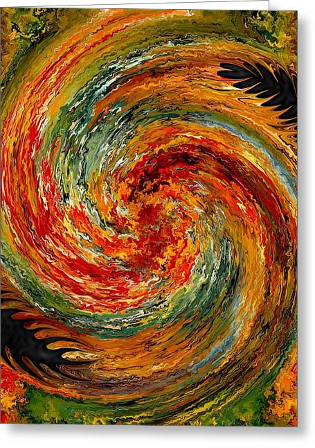 Vertigo Greeting Cards - Vertigo Greeting Card by Rafi Talby