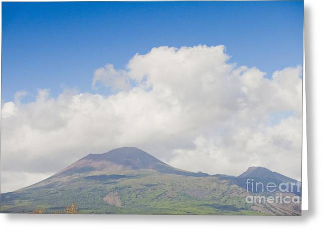 Old Pizza House Greeting Cards - Vesuvio Vulcano Greeting Card by Andre Goncalves