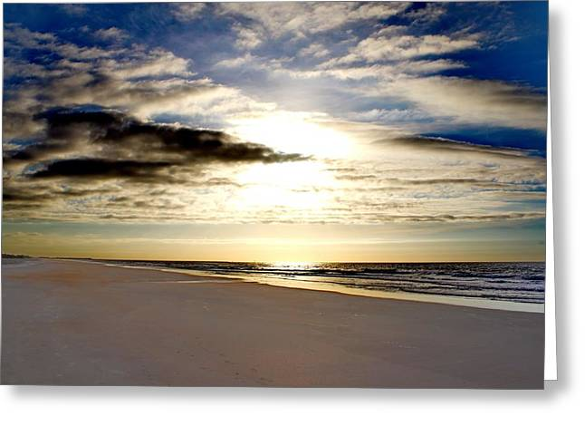 Ocean Art Photos Greeting Cards - Vibrant Contrast Greeting Card by Brian Hamilton