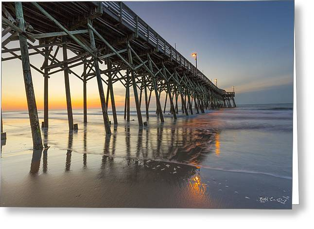 Vibrations Rising Greeting Card by Bill Cantey