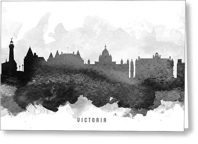 Victoria Cityscape 11 Greeting Card by Aged Pixel