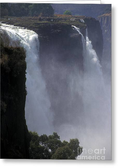 Craig Lovell Greeting Cards - Victoria Falls - Zimbabwe Greeting Card by Craig Lovell