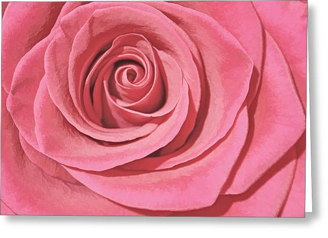 Paint Photograph Greeting Cards - Victorian Rose Greeting Card by Stephen Kinsey