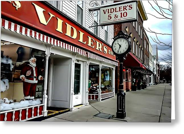 Dime Store Greeting Cards - Vidlers Five And Dime East Aurora NY Greeting Card by Elizabeth Duggan
