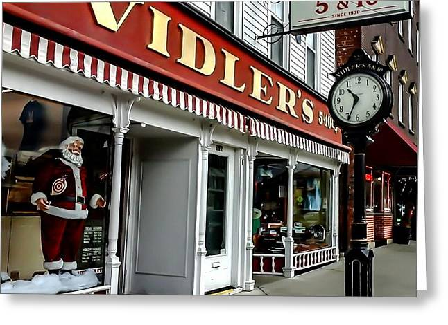 Dime Store Greeting Cards - Vidlers Five And Dime Store Greeting Card by Elizabeth Duggan