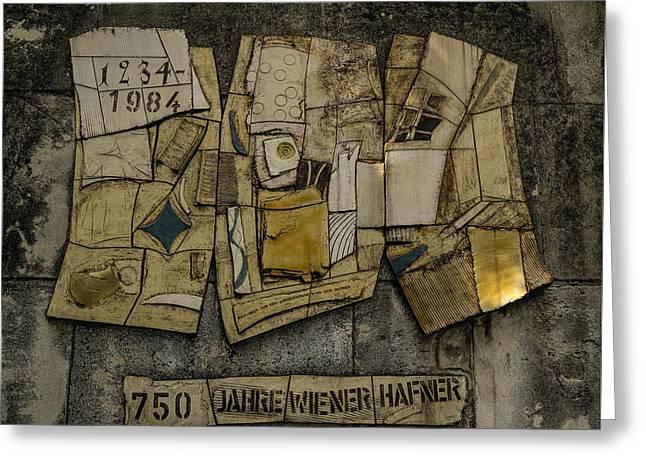 Vienna Guild Of Hafners Greeting Card by Gary Rieks