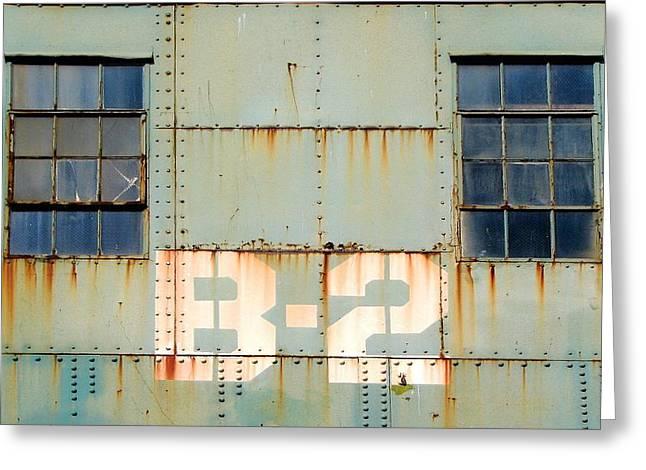 View B-2 Greeting Card by Ben Freeman