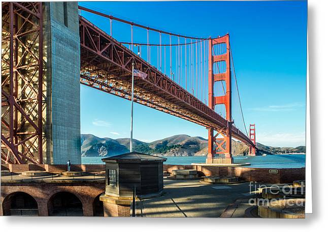 Civil War Site Greeting Cards - View from Fort Point Greeting Card by Jerry Fornarotto