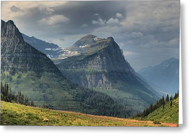 West Glacier Greeting Cards - View From Glacier Big Bend Greeting Card by Adam Jewell
