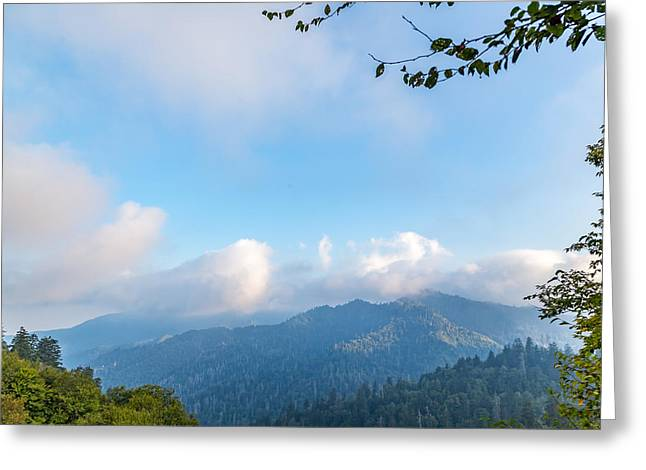 Mccoy Greeting Cards - View from Newfound Gap Greeting Card by A Different Brian Photography