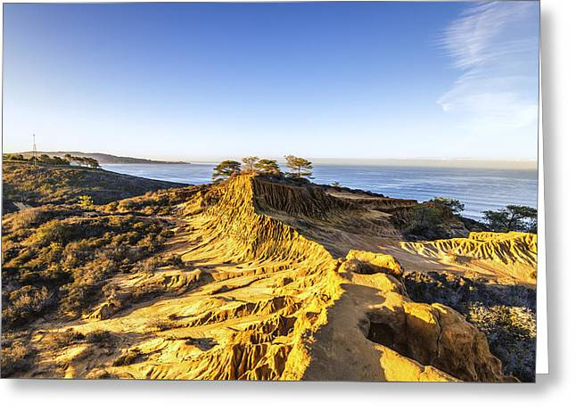 S. California Greeting Cards - View from the Hill Greeting Card by Joseph S Giacalone