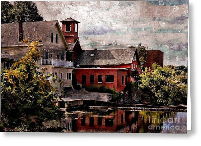 Usa Photographs Greeting Cards - View From The Squamscott River Greeting Card by Marcia Lee Jones