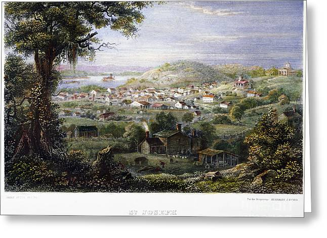 Recently Sold -  - Saint Joseph Greeting Cards - View Of St Joseph, Missouri Greeting Card by Granger