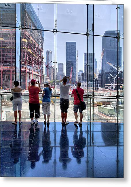 Ground Zero Greeting Cards - Viewing Ground Zero Greeting Card by Robert Ullmann