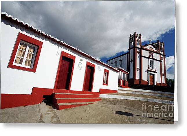 Azores Greeting Cards - Vila do Porto - Azores Greeting Card by Gaspar Avila