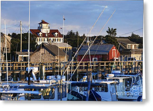 Usa Photographs Greeting Cards - Village of Menemsha Greeting Card by John Greim