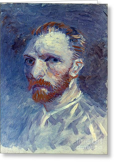 Vincent Van Gogh Greeting Card by Granger