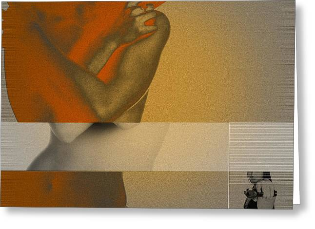 Vindication Greeting Card by Naxart Studio