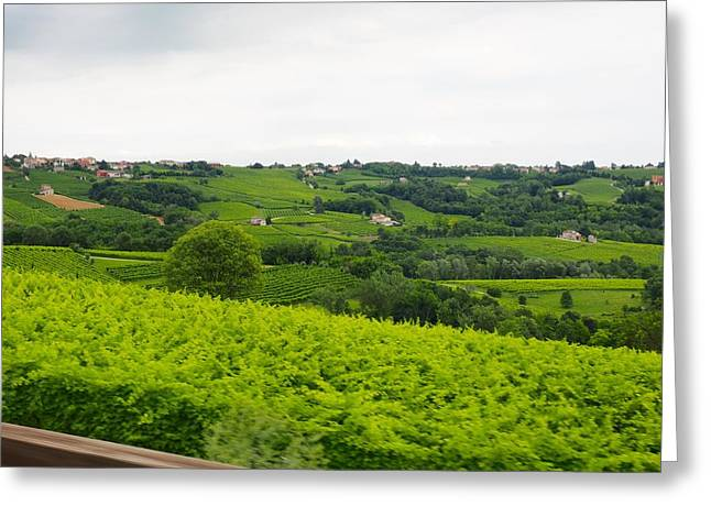 Prosecco Photographs Greeting Cards - Soon to be Vino Greeting Card by Jason  Da Silva
