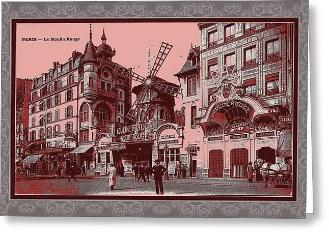 Vintage 1900s Paris Greeting Card by Robert G Kernodle