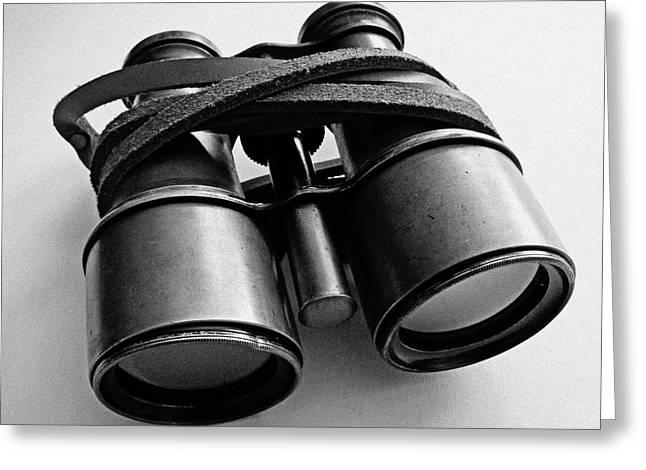 Artistic Photography Greeting Cards - Vintage Binoculars  Greeting Card by Jerod Scheiferstein