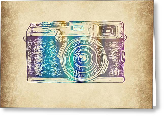Vintage Camera 5 Greeting Card by Brandi Fitzgerald