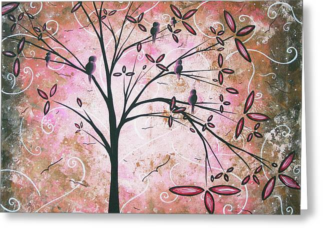 Licensor Greeting Cards - Vintage Couture by MADART Greeting Card by Megan Duncanson
