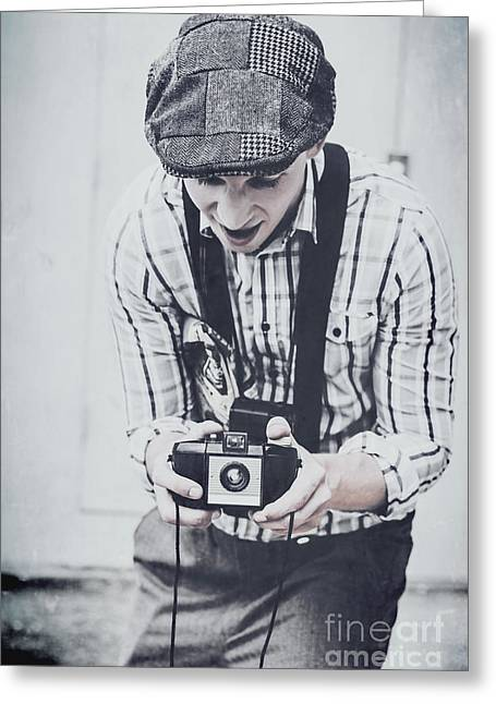 Vintage Creativity In Process Greeting Card by Jorgo Photography - Wall Art Gallery