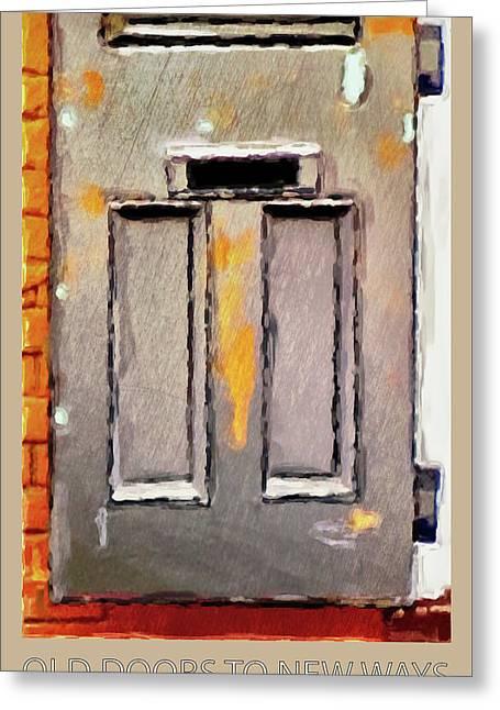Vintage Door 2 Greeting Card by Eduardo Tavares