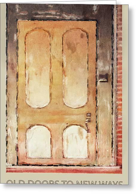 Vintage Door 3 Greeting Card by Eduardo Tavares