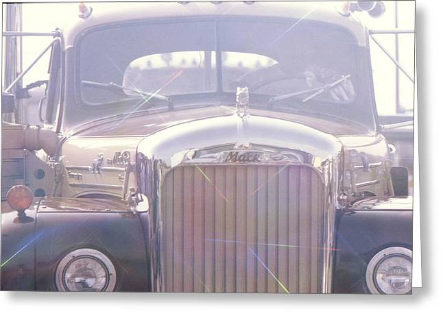 Wibada Photo Greeting Cards - Vintage Mack Greeting Card by Don Youngclaus