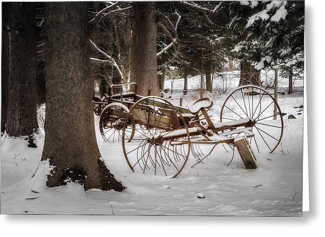 Vintage Winter Greeting Card by Bill Wakeley