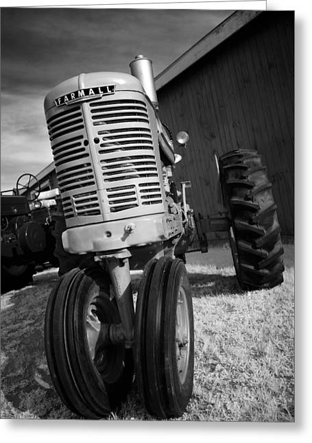 Harvest Art Greeting Cards - Vintage Workhorse - Farmall Greeting Card by Luke Moore