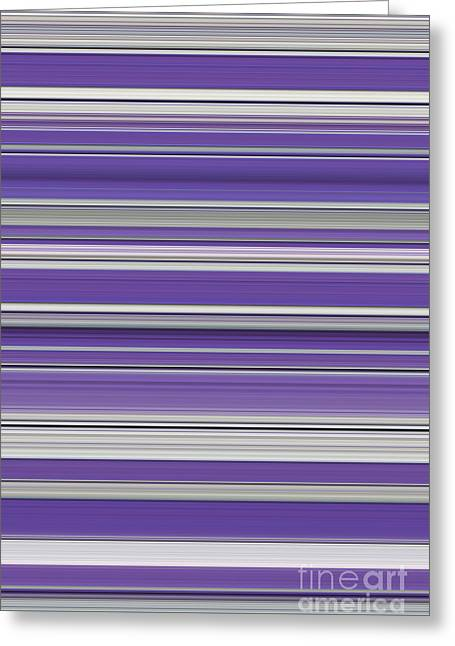 Vivid Colour Greeting Cards - Violet Greeting Card by Tim Gainey