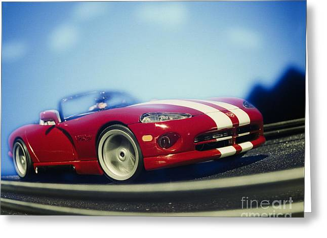 Table Greeting Cards - Viper Greeting Card by Hans Janssen