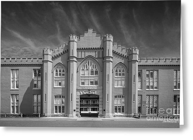 Virginia Military Institute Old Barracks Greeting Card by University Icons