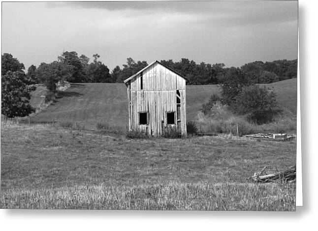 Shed Greeting Cards - Virginia Shed Greeting Card by Michael L Kimble